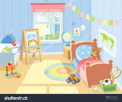 Girls Bedroom Artwork Lounge Clipart Childrens Bedroom Pencil And In Color Lounge