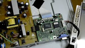 repair the lcd monitor benq youtube