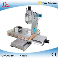 wood sculpting machine vertical colom type 4 axis wood carving machine 6040 cnc milling
