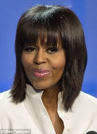 ms obamas hair new cut michelle obama hair were bangs of first lady inspired by kerry