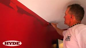 How To Clean Walls With Flat Paint by How To Paint Next To A Ceiling And Get Clean Edges Youtube