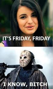 Rebecca Black Memes - rebecca black vs jason funny sayings quotes pinterest rebecca