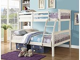 Novaro PINEWOOD Triple Bunk Bed In WHITE Or PINE Three Sleeper - White bunk beds uk