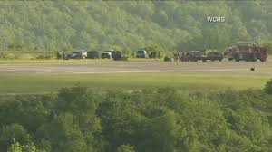 cargo plane goes off runway at west virginia airport abc7news com
