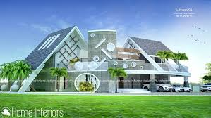 6000 Square Feet Double Floor Contemporary Home Design