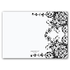 garland black and white birthday invitations paperstyle