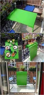 si e rabattable pour fabriquer une armoire murale et table rabattable balcon diy vert