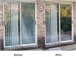 Patio Door Repair Furniture Fabulous Patio Door Glass Repair Foggy Sliding In