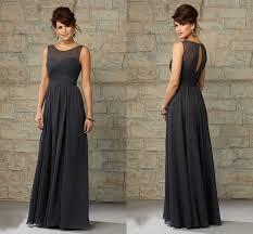 charcoal grey bridesmaid dresses přes 25 nejlepších nápadů na téma grey chiffon dress na pinterestu