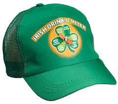 st patrick u0027s day irish drink o meter snapback hat