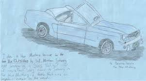 the with the blue mustang the blue mustang by bluefoxv3 on deviantart