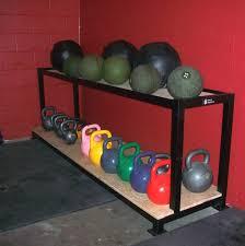 Ball Organizer Garage - kettlebell u0026 med ball storage racks roman strength