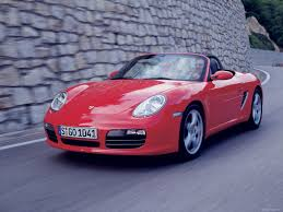 Porsche Boxster Red - 2008 porsche boxster wallpapers
