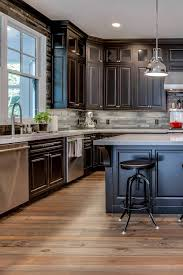 grey kitchen cabinets wood floor charcoal gray kitchen cabinets or light