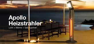 design heizstrahler warmwatcher heizstrahler terasse heizstrahler balkon