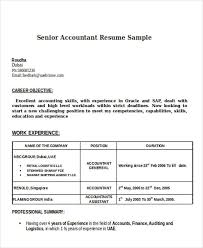 best accounting resumes accountant resume template sample resume for cpa bank accountant