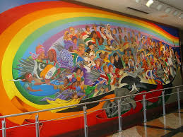 Denver International Airport Murals Pictures by Leo Tanguma The Children Of The World Dream Of Peace Den U2026 Flickr