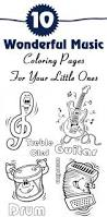 37 best music colouring sheets images on pinterest coloring