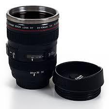Buy Coffee Mugs by Amazon Com Trademark Camera Lens Coffee Mug With Lid By