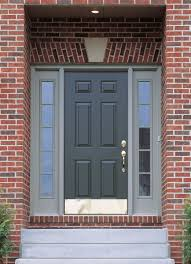 Exterior Door Kick Plate Accessorize Your Front Door While Increasing Its Durability With A