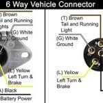 7 plug trailer wiring diagram interesting trailer connector