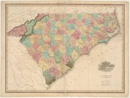 North Carolina Map File 1827 North Carolina And South Carolina Map Tanner Jpg
