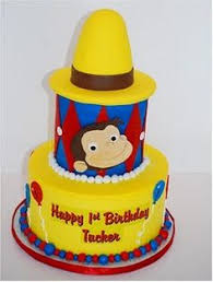 curious george cakes marymel cakes a curious george 2nd birthday cake