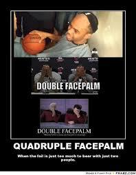 Double Facepalm Meme - star trek facepalm meme