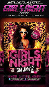 top 10 best ladies night psd flyer templates for photoshop