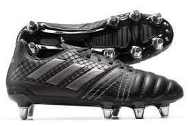 s rugby boots uk adidas kakari elite sg black out by1968 rugby boots size uk 10