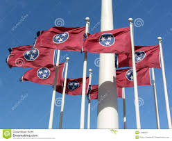 Tennesse Flag Tennessee State Flag Stock Image Image Of Capital Flagpole