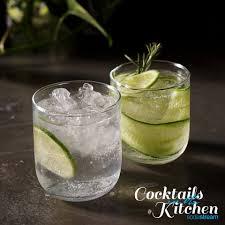 vodka tonic lemon carbonated drink recipes sodastream australia