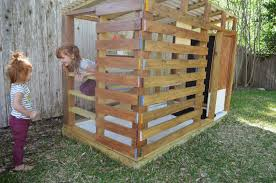 shed playhouse plans modern diy outdoor playhouse tour and how to