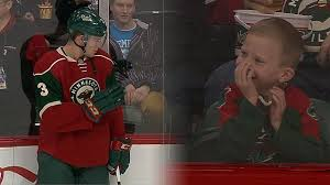 priceless wild u0027s coyle makes young fan u0027s day youtube
