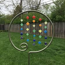 beaded garden stake idea the beading gem s journal