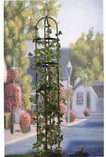 Obelisk Trellis Metal Garden Obelisk Ebay Plans And Instructions For Building A Garden