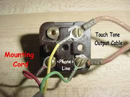 wiring a touch tone pad to any antique telephone phone conversion
