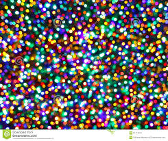 tree lights multicolored bokeh background stock