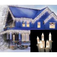 cool white icicle lights ge staybright led 100 light icicle set cool white