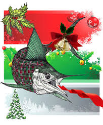 christmas cards themed offshore fishing theme christmas cards