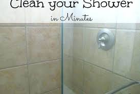 Cleaning Glass Shower Doors With Vinegar Vinegar Cleaning Glass Pianotiles Info