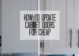 Updating Old Kitchen Cabinet Ideas by Best 25 Cabinet Door Makeover Ideas On Pinterest Updating