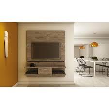 Home Depot Online Design Center by Manhattan Comfort Ellington Nature Storage Entertainment Center