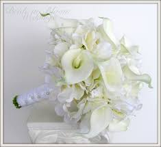 white calla lilies wedding bouquet white calla bridal bouquet