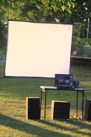 How To Make A Backyard Movie Screen by How To Throw An Awesome Outdoor Movie Night Fun With Kids