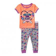 garanimals newborn baby tight fit cotton pajamas 2t