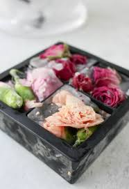 Floral Food by How To Make Floral Ice Cubes U2014 Easy Elegant Entertaining