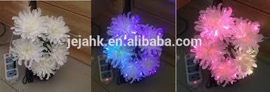 vintage 80 u0027s fiber optic flower lamp color changing wind up music