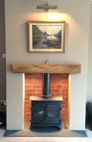 wood burning stove fire surrounds external flue regulations