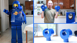 how to make an awesome lego man costume hands lego movie benny